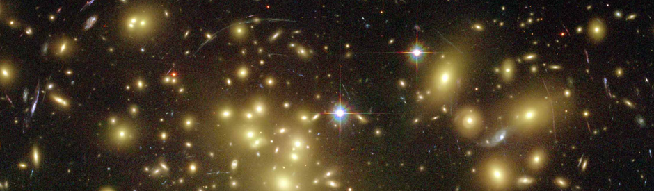 "Galaxy Abell 1689's ""Gravitational Lens"" Magnifies Light of Distant Galaxies"