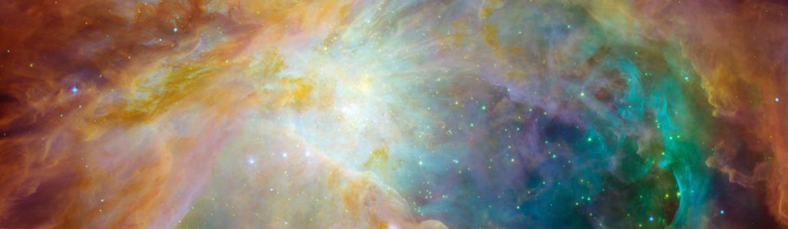 The Hubble Telescope Orion Nebula